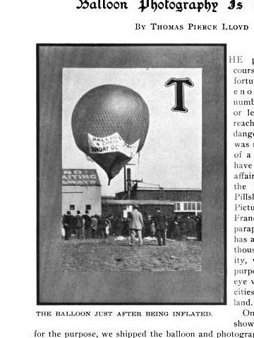 The Faerie, AC's balloon used to film rebuilding of SF in 1909, & the 1910 Air Show
